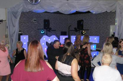 Wedding celebration with Disco Nation Mobile Disco