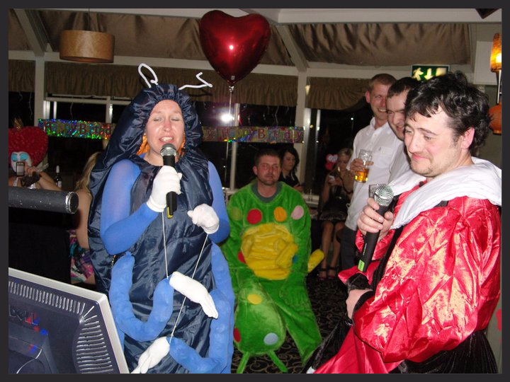 Fancy dress and Karaoke with Disco Nation Mobile Disco
